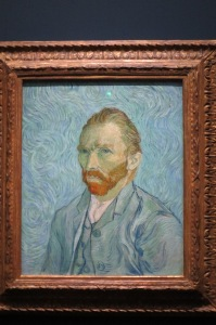"Van Gogh self-portrait (his good ""ear"" side)"