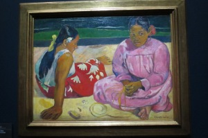 Gauguin - from when he ran off to the south Pacific