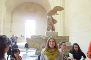 Winged Victory of Samothrace, Greek, 220 - 190 BC, one of my favorites.